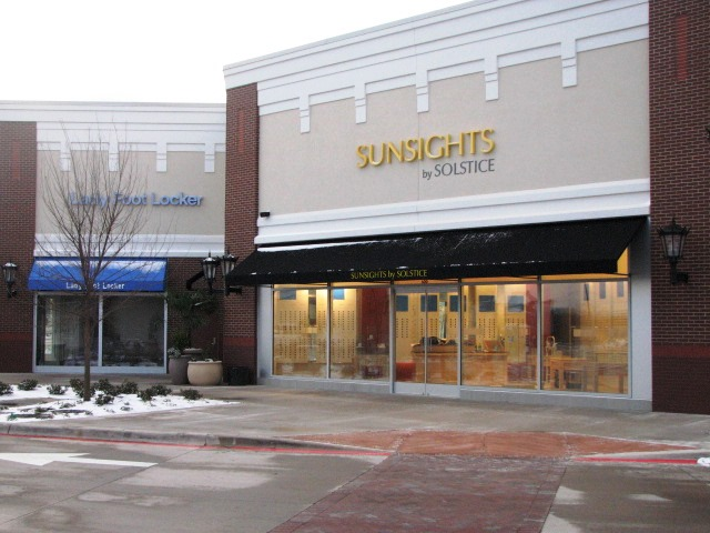 Exterior photo of Sunsights by Solstice store