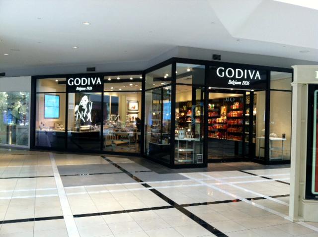 Godiva Deluxe Storefront