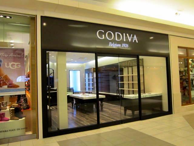 Single storefront Godiva
