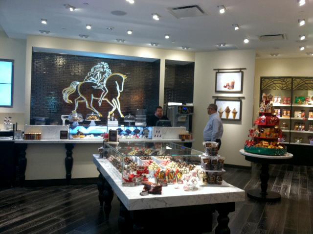 Godiva Store Interior