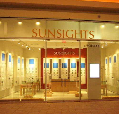 Sunsights by Solstice retail store