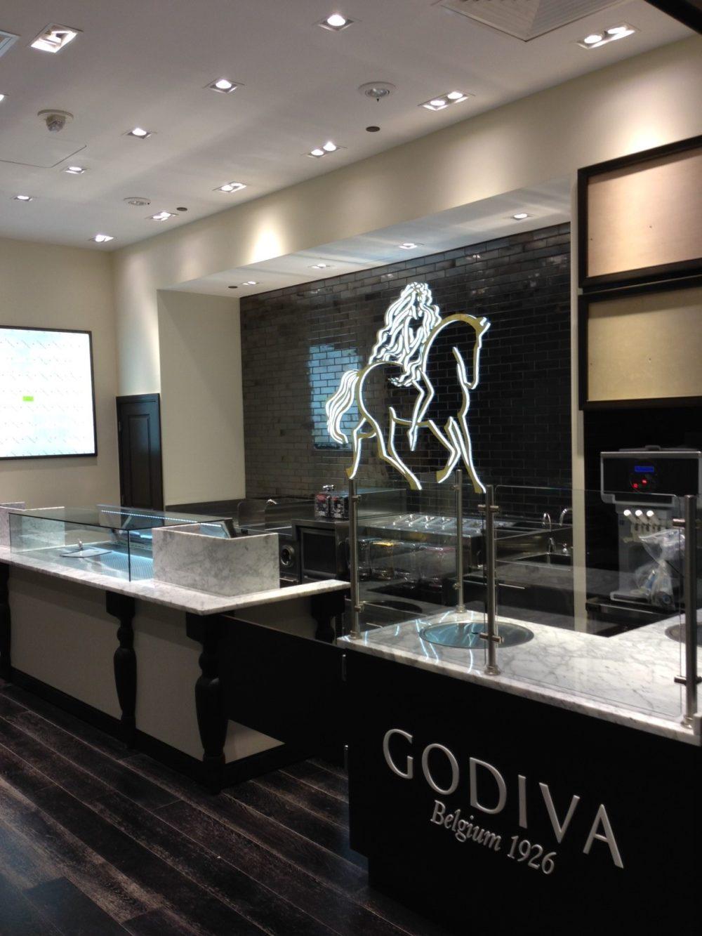Godiva store Jersey City