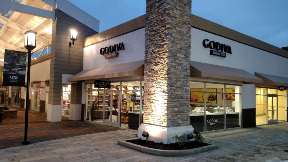 Godiva store - San Francisco Premium Outlets