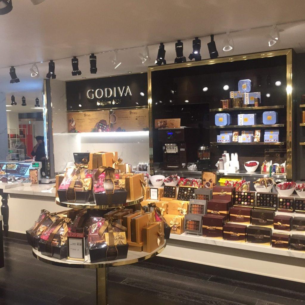 Godiva Shop within a Shop