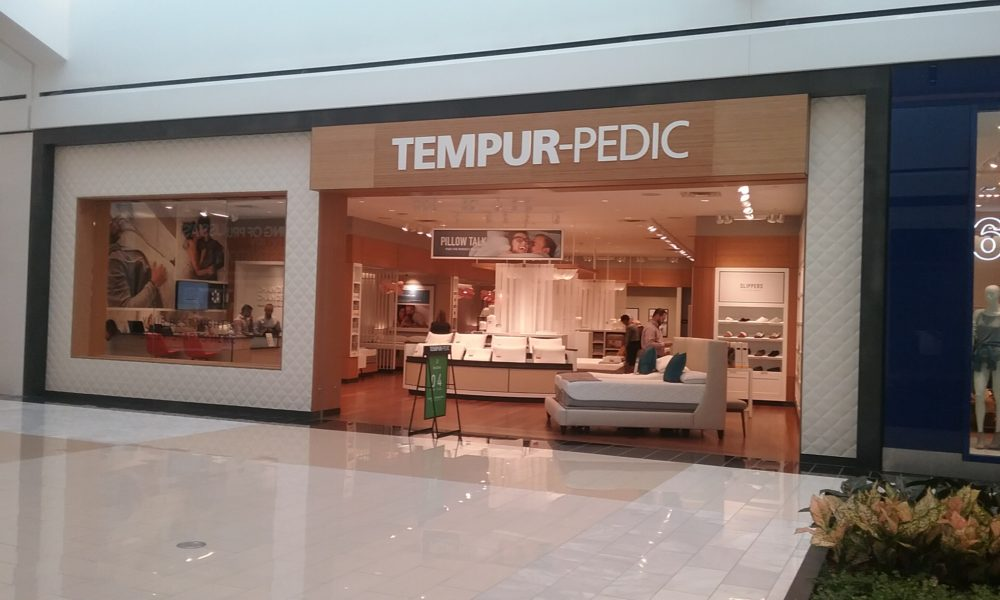 Tempur-Pedic store within the King of Prussia Shopping Mall