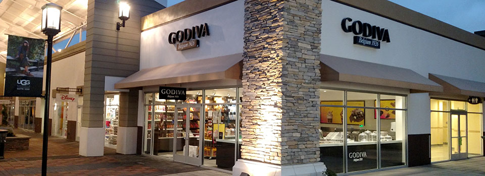 Exterior Godiva Store